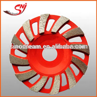 Diamond Turbo Cup Grinding Wheel for Marble