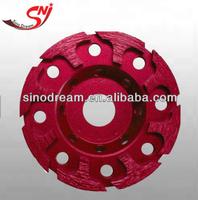 Diamond T-shape Cup Grinding Wheel for Marble