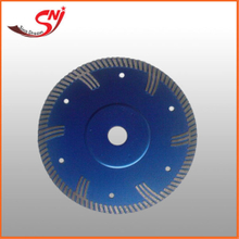 150mm T-shape Turbo Hot Pressed Diamond Saw Blade