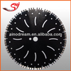 Laser circular diamond saw blade for hard marble